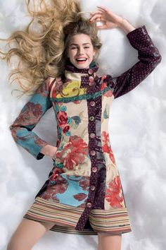 abrigo luciole de mujer desigual otoño invierno 2013 2014