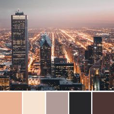 Warm city light tones. | Boulden Creatives