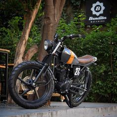 yamaha ybr 125 project from Bendita Macchina