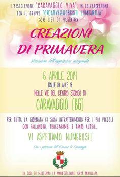 Creazioni di Primavera a Caravaggio (BG) http://www.panesalamina.com/2014/22517-creazioni-di-primavera-a-caravaggio-bg.html
