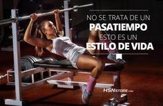 No se trata de un pasa tiempo, esto es un estilo de vida. #fitness #motivation #motivacion #gym #musculacion #workhard #musculos #fuerza #chico #chica #chicofitness #chicafitness #sport