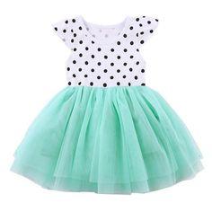 Leegor Little Girls Dresses,Infant Baby Sunflower Print Sleeveless Backless Floral Dress Outfits