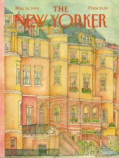 """""""The New Yorker"""" cover by Iris Van Rynbach, May 14, 1984"""