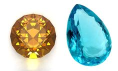 Did you know there is more than one November birthstone? Discover the beauty of Topaz and Citrine at AmericanGemSociety.org.