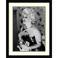 Ed Feingersh 'Marilyn Monroe, Chanel No. 5' Framed Art Print