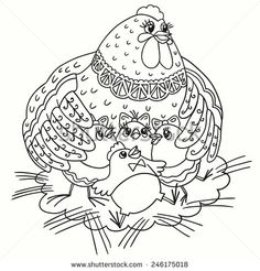 chicken coloring pages - Google-haku