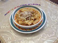 Ricette di cucina di Laura: Pasta alla genovese con macinato