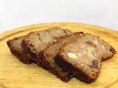 Voedselzandloper Cake: Met banaan, amandelmeel, chocolade, walnoten... Superlekker!