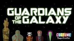 Meet the Guardians of the Galaxy infographic