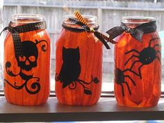 Fun luminary craft with the kids for Halloween