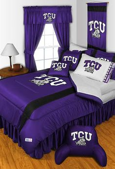 Show your Horned Frog pride. New TCU bedding available. Orders yours today!