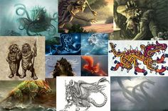Ancient Origins The world is full of stories about mythical creatures, legendary beasts, and supernatural and god-like beings. Mythological Creatures, Mythical Creatures, Sea Creatures, Tim Holtz, World Mythology, Archaeology News, Archaeological Discoveries, Ancient Artifacts, Ancient Myths