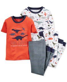 Carter s Baby Boys  4-Piece Dinosaur Pajama Set - Kids Baby Boy (0 c25edd096