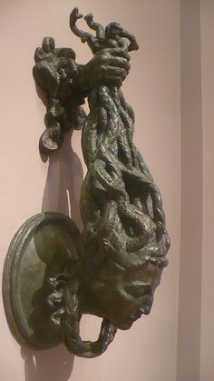 Medusa Knocker    Visit To The BMA by A.Currell, via Flickr