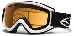 Smith Optics Cascade Goggle (White Frame, Gold Lite Lens) by Smith Optics. $34.95. Updated Styling that minimizes mass and maximizes vision for superior helmet compatibility.