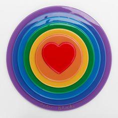 Sir Peter Blake - Rainbow Target - New Art Editions Peter Blake Artist, Pop Art Movement, Painting Plastic, T Art, London Art, Love Heart, Rainbow Colors, Wall Art Prints, Artsy