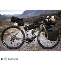 #Repost @panniercc ・・・ The Cape | Ready for Camp . Day 3/4 on tour in the far…