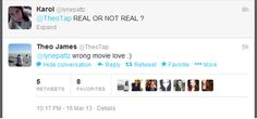 """""""Theo knows the """"real or not real"""" quote."""" AND HE SAID LOVE HES SO ENGLISH OMG ~Divergent~ ~Insurgent~ ~Allegiant~"""