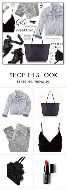 """""""Fall Style with Gigi New York"""" by adnaaaa ❤ liked on Polyvore featuring Gap, GiGi New York, Chanel, Marc by Marc Jacobs, T By Alexander Wang, Louis Vuitton, Garance Doré, Old Navy, ZIG-ZAG and Forever 21"""