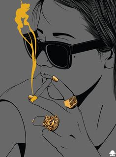 24K by Gerrel Saunders, via Behance