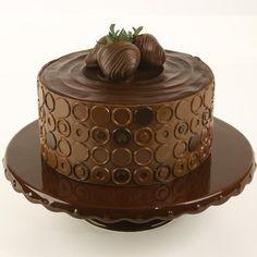 Chocolate Round theme cake