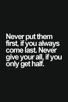 Never be taken for granted. Always remember your worth, always. http://www.improsolutions.com/