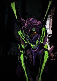 The Eva 1 Neon Genesis Evangelion Neon Genesis Evangelion, Manga Art, Anime Art, Gundam, Mecha Anime, Animes Wallpapers, Anime Comics, Cyberpunk, Concept Art