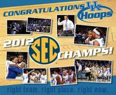 Your UK Hoops team: 2012 SEC Champions!