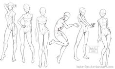 Foto Drawing Body Poses, Body Reference Drawing, Human Body Drawing, Drawing Reference Poses, Female Drawing, Body Sketches, Art Drawings Sketches, Wie Zeichnet Man Manga, Body Drawing Tutorial