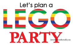 We found Some Ideas for a Lego Party That You're Going to Love!