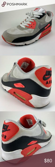 online retailer b3bf2 d6c33 Nike Air Max 90 OG HOA Classic Infrared ▫️Used Condition ▫️Fair Overall  Condition ▫