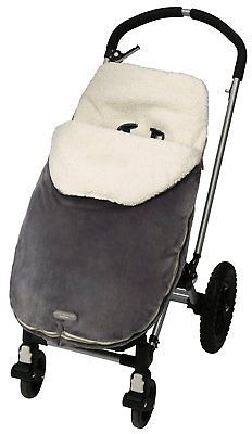 Toddler JJ Cole Warm Winter Bundleme Cover For Car Seats Strollers Graphite Gray