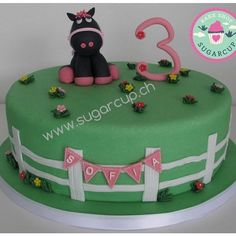 Birthday cake black pony Fondant, Pony, Birthday Cake, Cakes, Baking, Desserts, Black, Pony Horse, Tailgate Desserts