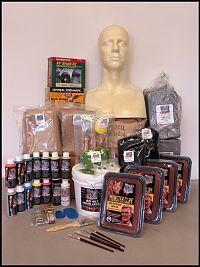 Deluxe Latex Mask Making Kit - Halloween Mask Making Kits - LATEX MASK MAKING KITS - The Monster Makers