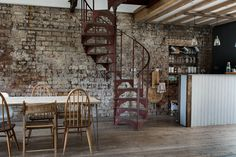 my scandinavian home: Workspace inspiration: an industrial style collaborative space Industrial Living, Industrial Chic, Ercol Furniture, Rue Verte, Fairytale House, Loft House, Workspace Inspiration, Space Interiors, Minimalist Living
