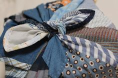 How to sew a patchwork furoshiki