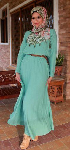 Maxi dress hijab online