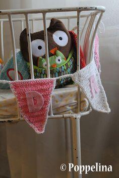 Poppelina: käsityöt, crocheted decorations.