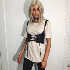 Women Lace Up Waistband Corset Belt Tank Shoulder Tie Up Eyelet Front Back Zipper High Waist Belt XL Plus Size Crop Top Female-in Belts & Cummerbunds from Women's Clothing & Accessories on Aliexpress.com   Alibaba Group