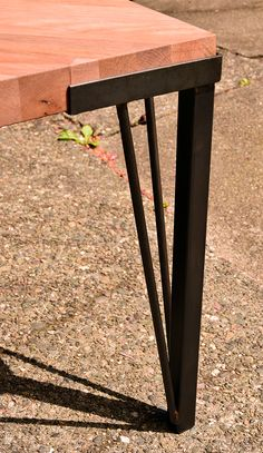 New Hairpin leg design by studioandolina