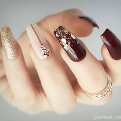 Nail art designs trendy nail art, swag nails, nails, cute nails, p 3d Nails, Matte Nails, Swag Nails, Bling Nails, Glitter Nails, Trendy Nail Art, Cool Nail Art, Beautiful Nail Art, Gorgeous Nails