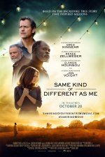 Same Kind of Different as Me (October 20, 2017) a romance drama film directed/written by Michael Carney. An International art dealer Ron Hall must befriend a dangerous homeless man in order to save his struggling marriage to his wife, a woman whose dreams will lead all three of them on the journey of their lives. Stars: Renée Zellweger, Jon Voight, Djimon Hounsou.