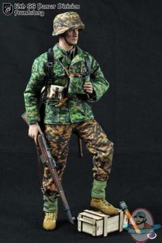 1/6 WWII German 10th SS Panzer Division Frundsberg Caltek | Man of Action Figures