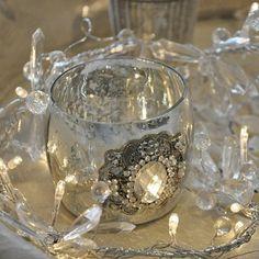crystal garland fairy lights