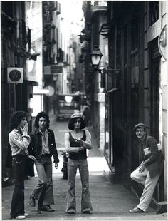 A morning in the Gothic Quarter, Barcelona (1979)