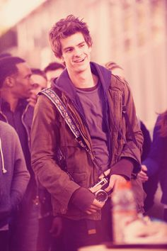 Andrew Garfield as Peter Parker.  New favorite.