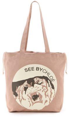 See By Tiger Medium Shopping Bag