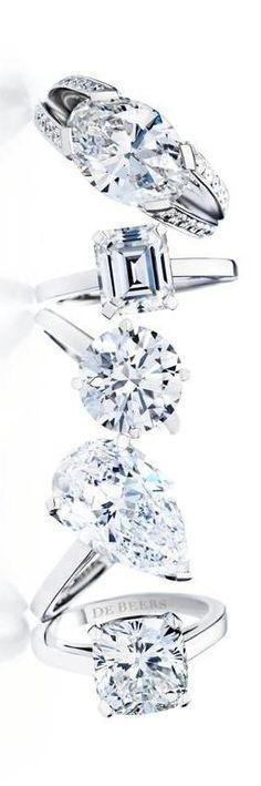 Bague Diamant  Tendance 2017/2018  : De Beers Diamonds  LadyLuxury