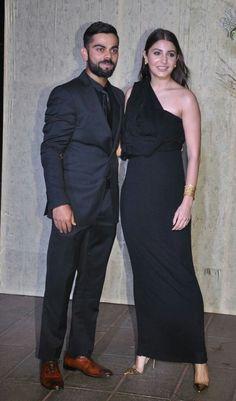 Virat Kohli and Anushka Sharma at Manish Malhotra 's 50th birthday party
