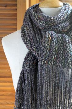 Magic 3-Yarn Scarf - Autumn